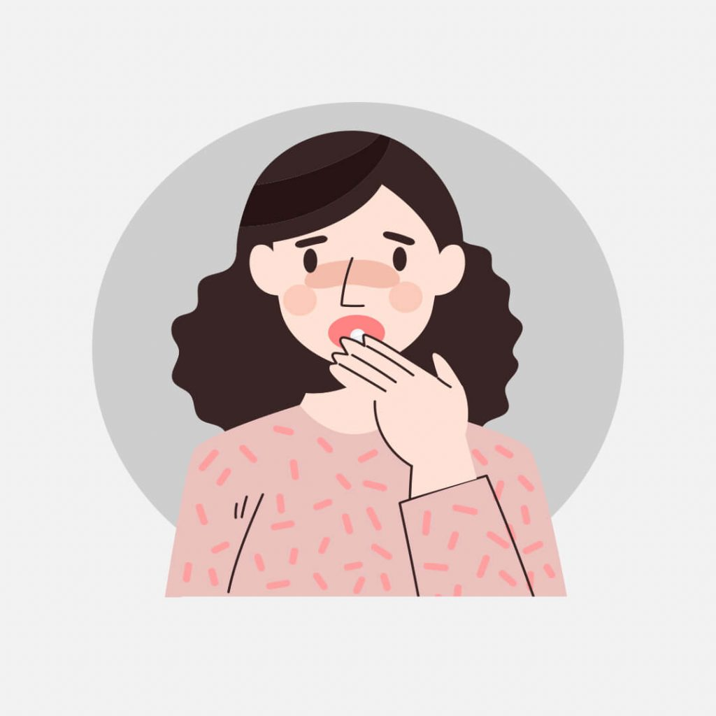 oral administration of mifepristone