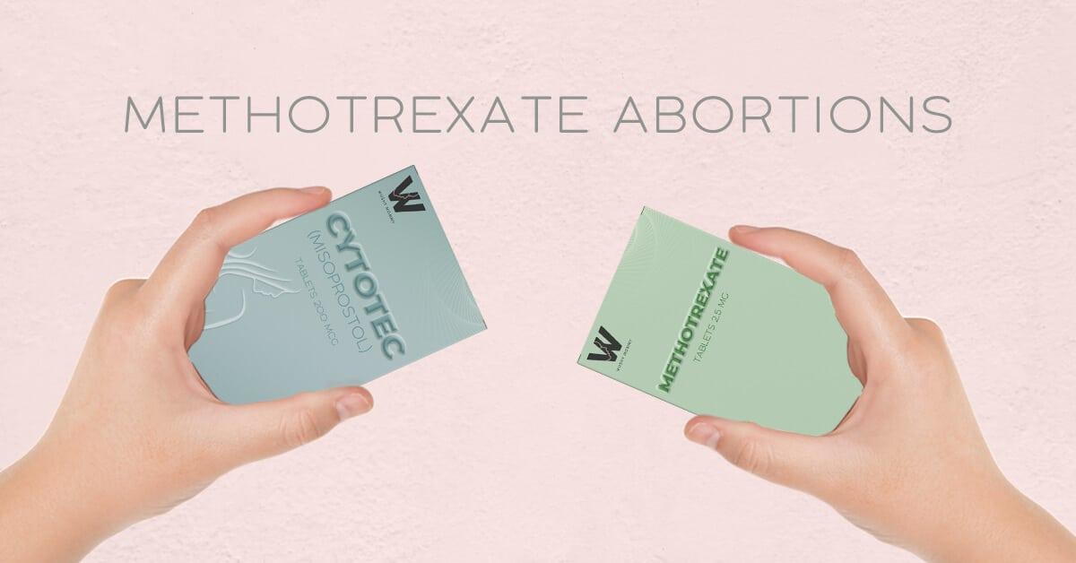 Methotrexate abortions